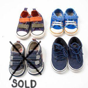 LOT see kai run Vans converse toddler shoes 5